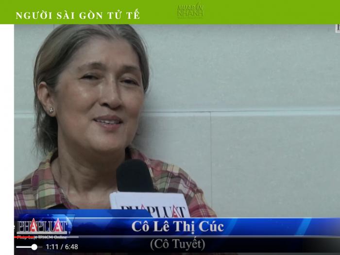 Phóng Sự Người Sài Gòn Tử Tế: Cô Tuyết Bán Bún Bò Cưu Mang Chàng Trai Cụt Hai Tay - Tài Trợ Từ Mua Bán Nhanh