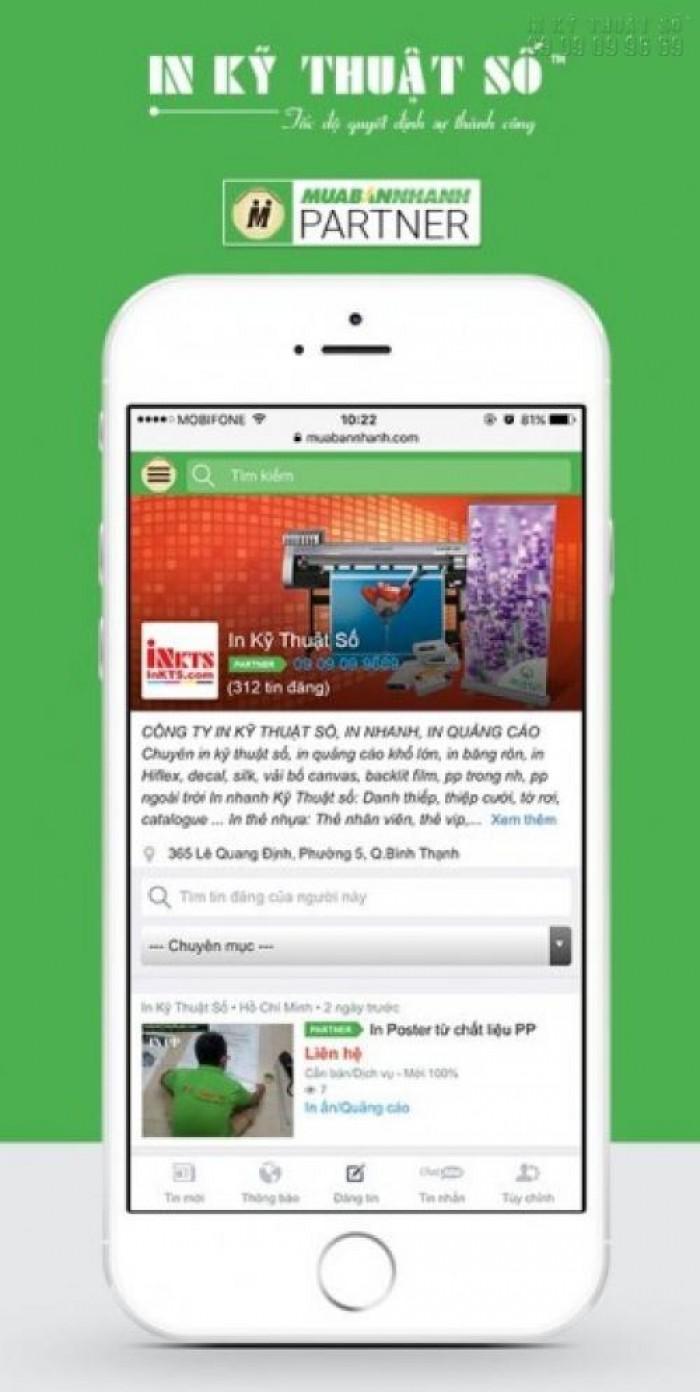 InKyThuatSo.com trên mạng xã hội nổi tiếng MuaBanNhanh.com