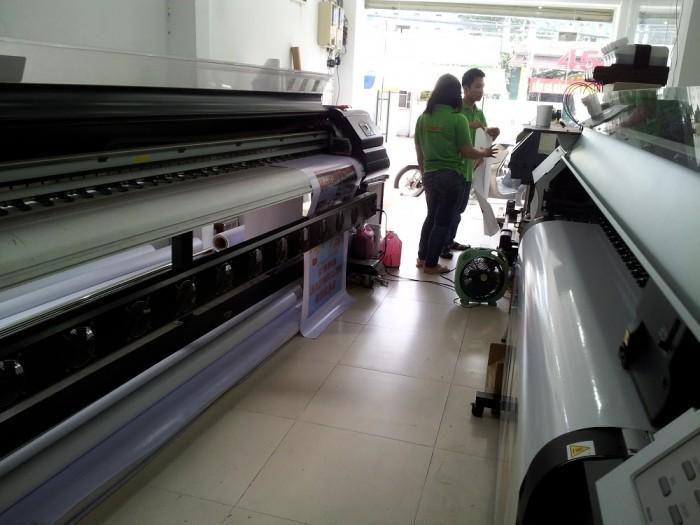 Hệ thống máy in mực dầu - in ấn ngoài trời tại In Kỹ Thuật Số
