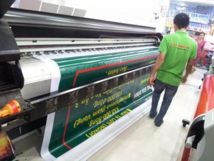 Hệ thống máy in mực dầu khổ lớn 3m3- in ấn quảng cáo trong ngoài trời của In Kỹ Thuật Số