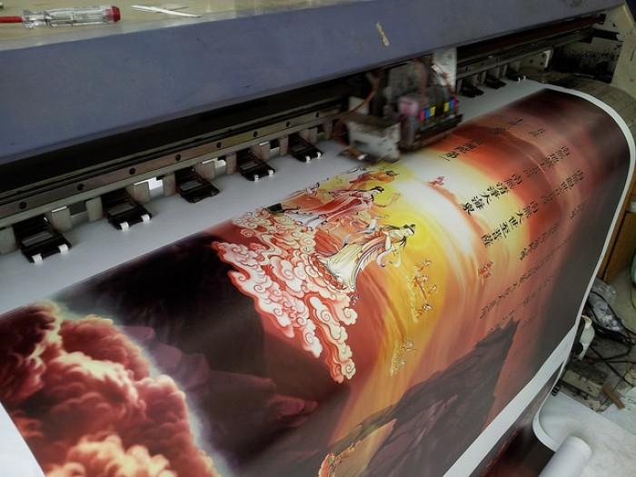 Dịch vụ in vải silk giá rẻ