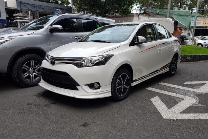 Đánh giá Toyota Vios về ngoại thất