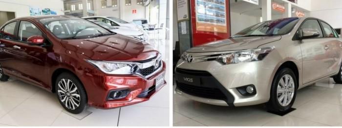 So sánh Toyota Vios và Honda City
