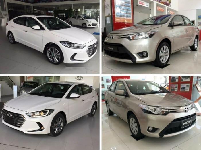 So sánh Toyota Vios và Hyundai Elantra