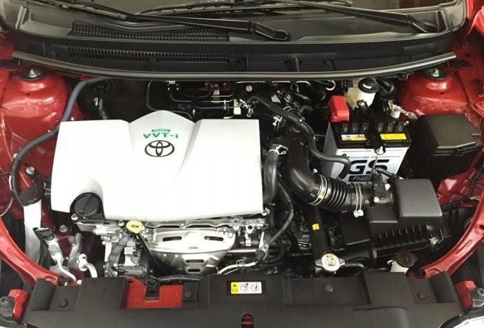 động cơ Toyota Yaris