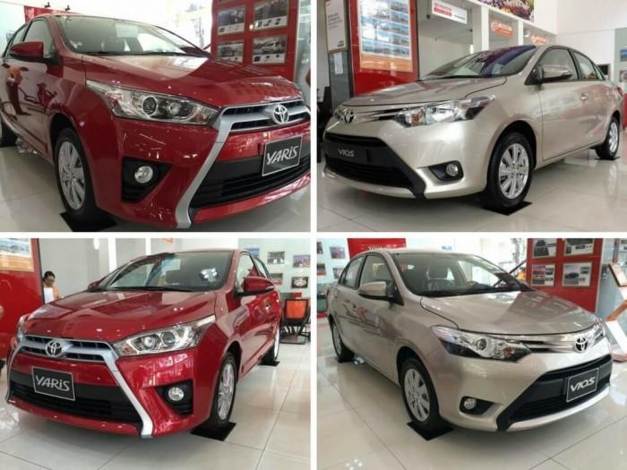 So sánh Toyota Vios và Toyota Yaris