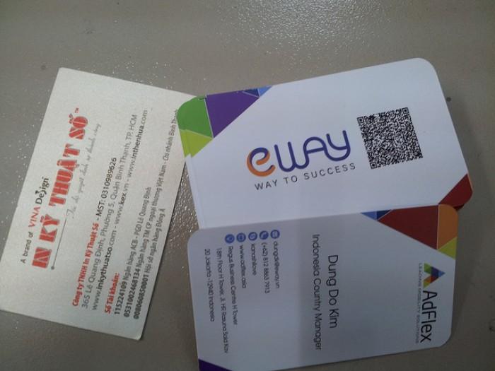 Card visit bằng tiếng Anh - mẫu 3