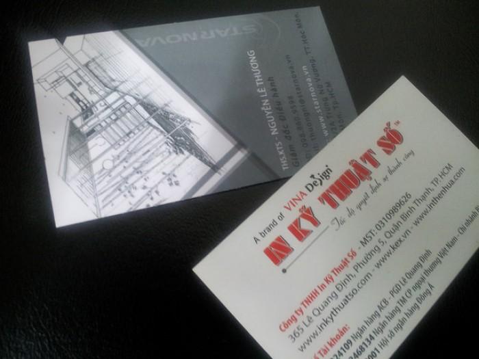 Mẫu card visit kiến trúc sư