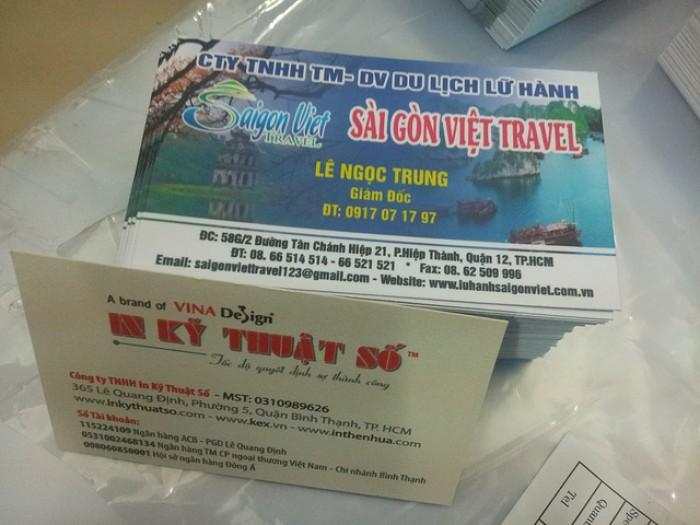 Mẫu card visit công ty du lịch