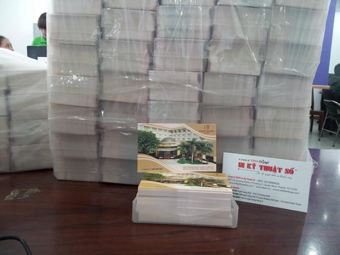 In card visit offset số lượng ít từ 5 - 200 hộp