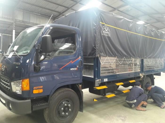 Động cơ xe tải HD120s 8.5 tấn thùng dài 6m