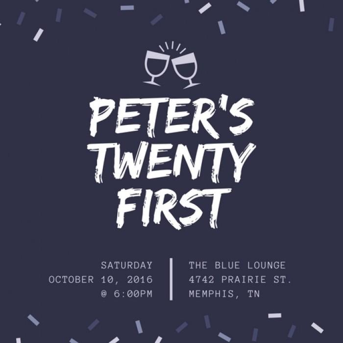 Peter's Twenty First - Sinh nhật 21 tuổi của Peter