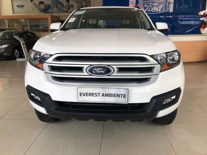 Đánh giá Ford Everest Ambiente 4×4 MT về ngoại thất
