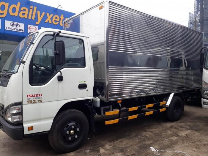 Xe tải Isuzu1.9 tấn thùng kín