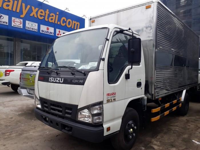 thông số kỹ thuật xe tải Isuzu 1.9 tấn thùng kín