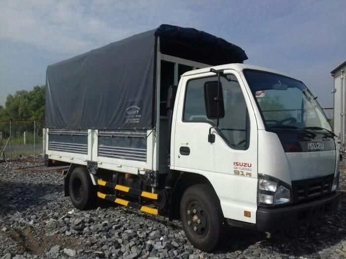 Mua bán xe tải Isuzu 1.9 tấn thùng mui bạt