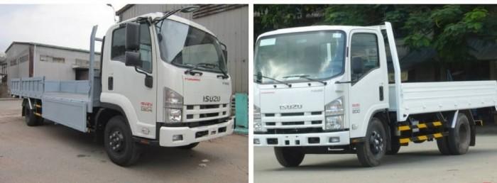 Ngoại thất xe tải 1.9 tấn Isuzu thùng lửng