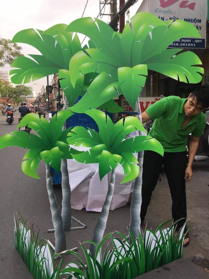In formex làm mô hình cây dừa trang trí