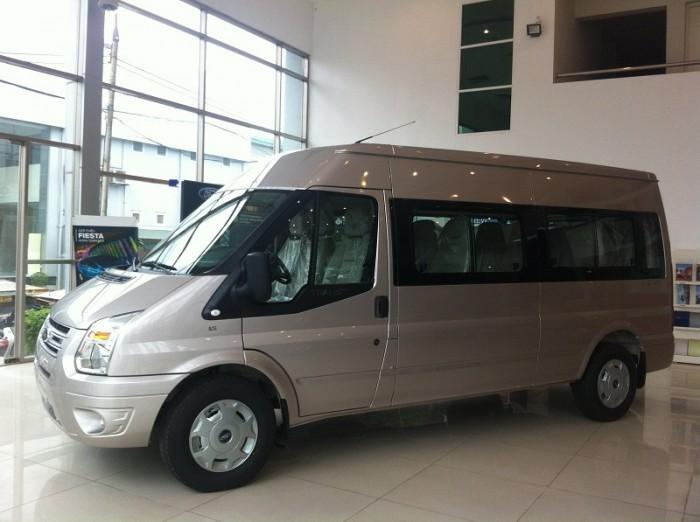 Ford Transit - Chiếc xe an toàn