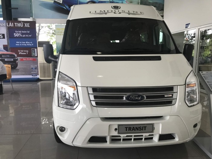 Ngoại thất xe Ford Transit 2018 Limousine