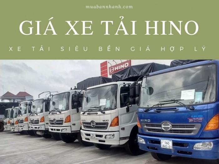Giá Xe Tải Hino - xe tải siêu bền giá hợp lý