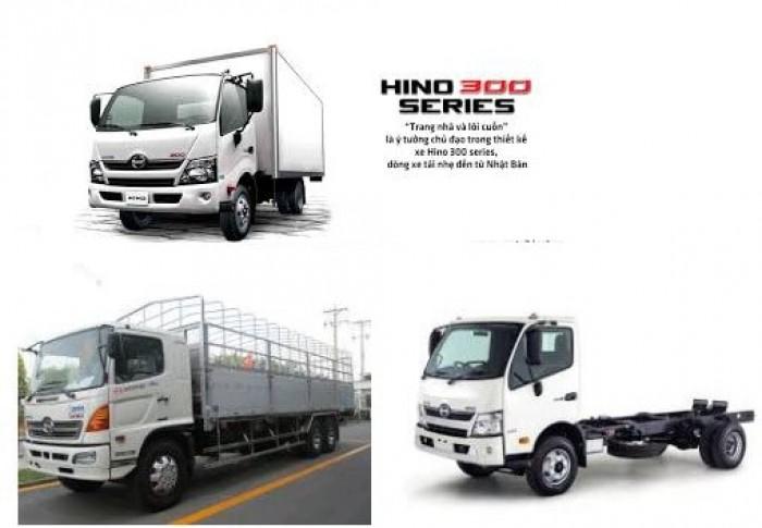 Xe tải hạng nhẹ HINO 300 SERIES LDT