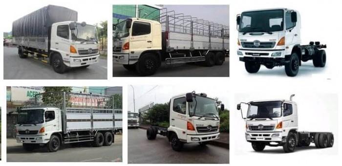 Xe tải hạng trung HINO 500 SERIES (MDT)