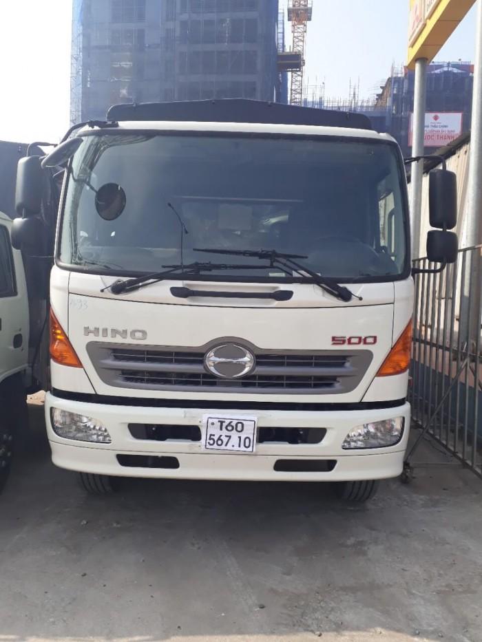 xe tải Hino 6.2 tấn