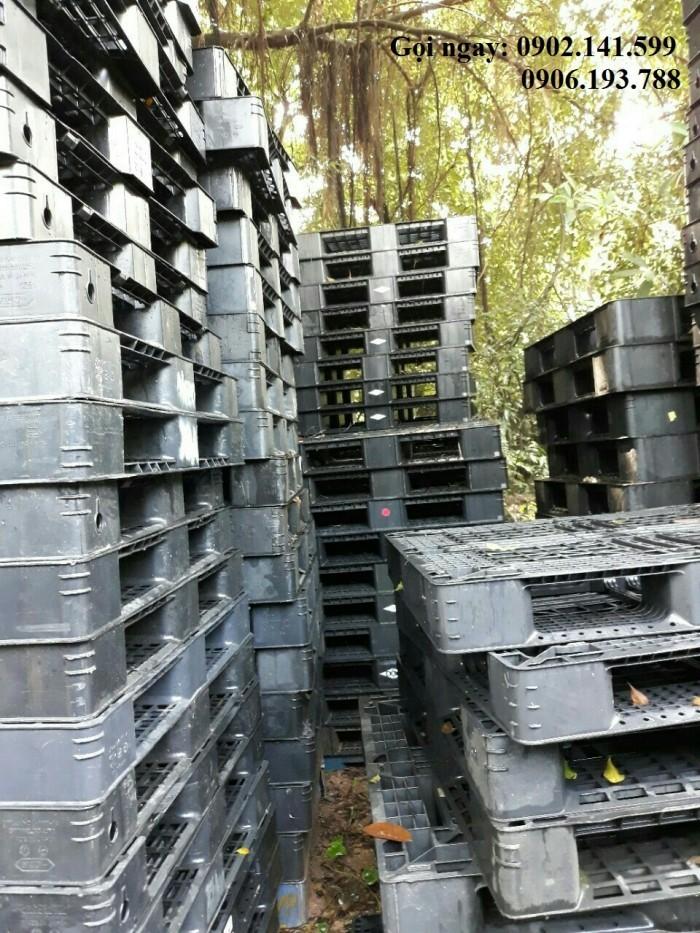 Pallet nhựa cũ tại Bình Dương nhập khẩu