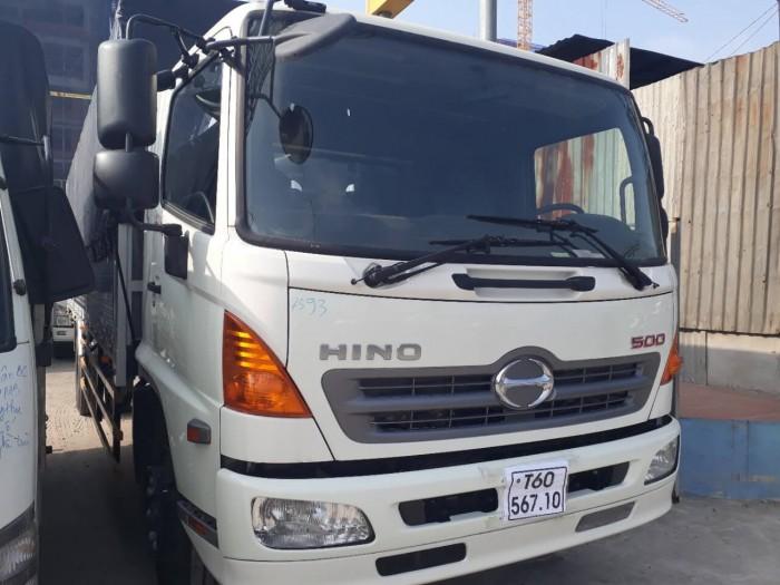 Giá xe tải Hino 6.2 tấn thùng mui bạt