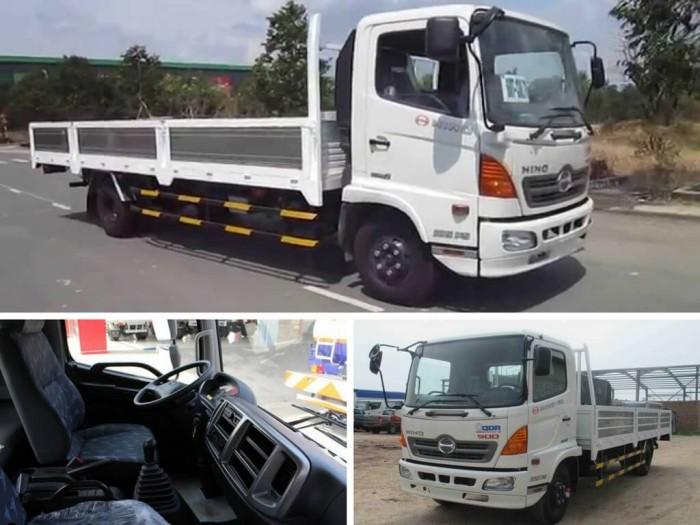Giá xe tải Hino 6.2 tấn thùng lửng chất lượng từ Nhật Bản