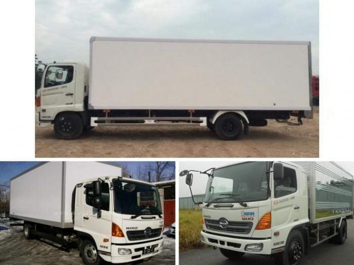 Giá xe tải Hino 6.2 tấn thùng kín: xe đẹp, giá tốt và những lý do nên mua ngay!