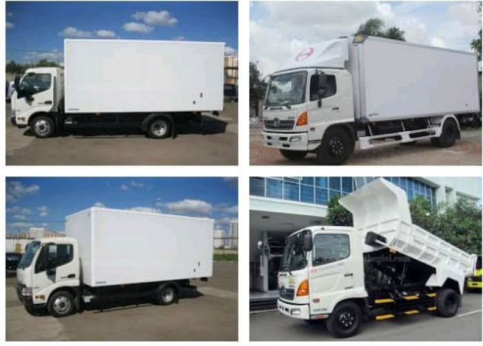 Các dòng xe ô tô tải Hino nổi bật trên thị trường