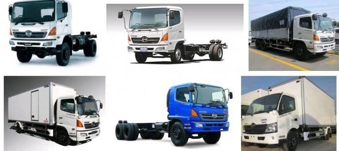 Xe tải hạng trung Hino 500 Series