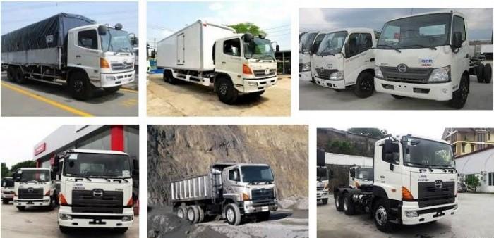 Xe tải hạng nặng Hino 700 Series