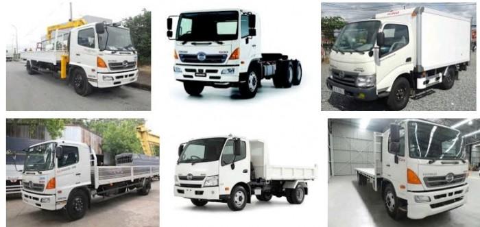 Xe Hino là sản phẩm với công nghệ Nhật Bản tiên tiến