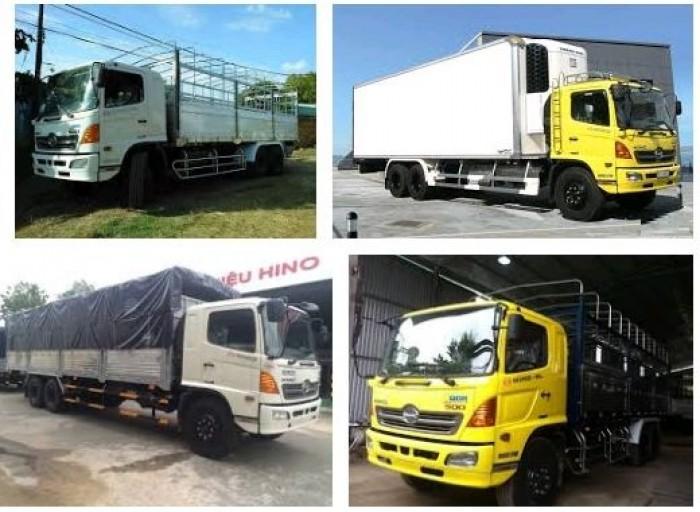 Giá xe tải Hino 16 tấn bao nhiêu?