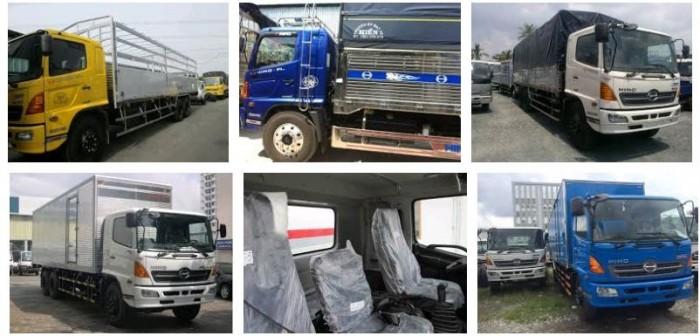 Đặc điểm xe tải Hino 16 tấn