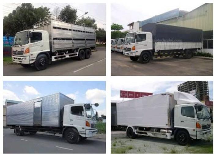 Giá xe tải Hino 8 tấn bao nhiêu?