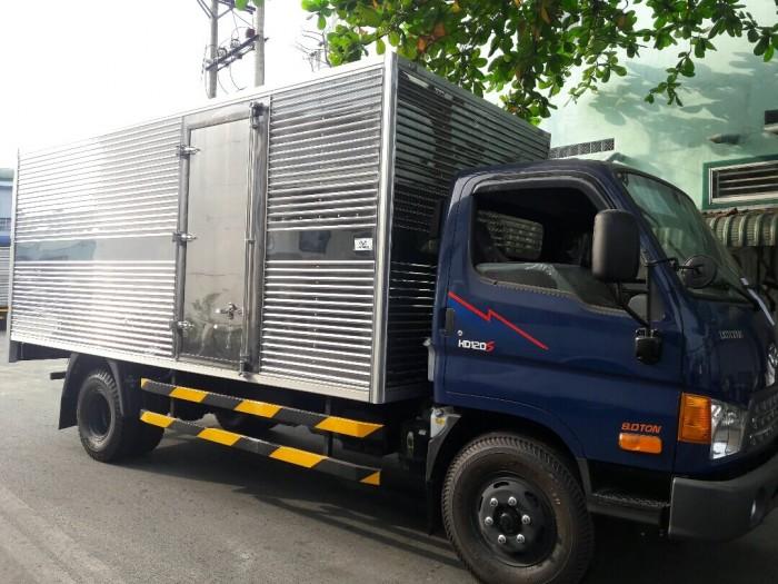 Giá xe tải 8 tấn Hyundai HD120SL các loại thùng hàng mới nhất