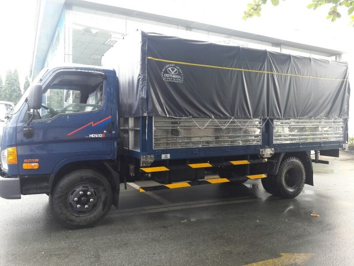 Đánh giá xe tải Hyundai HD120SL: tiết kiệm nhiên liệu, chở hàng hiệu quả