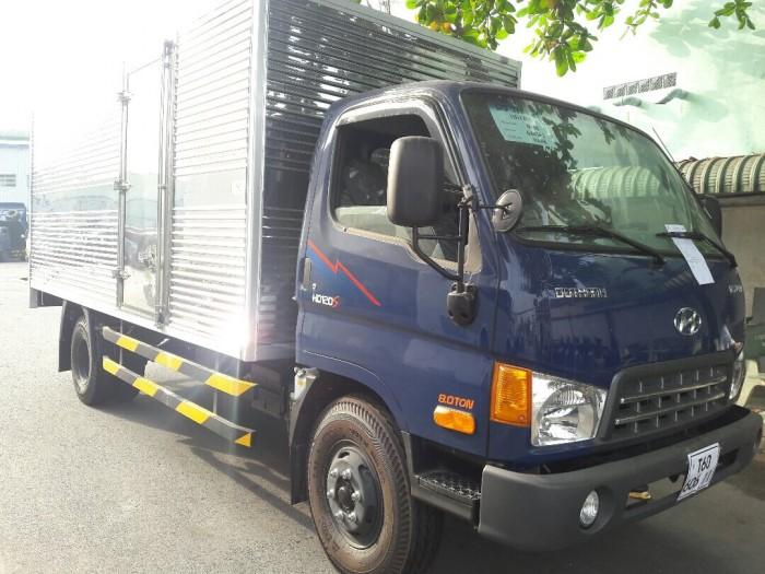 Ngoại thất xe tải Hyundai HD120SL hiện đại