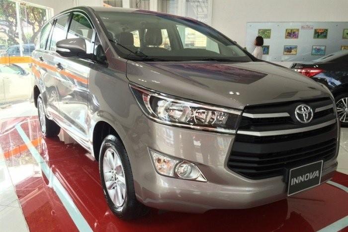 Ngoại hình Toyota Innova đơn giản nhưng tinh tế
