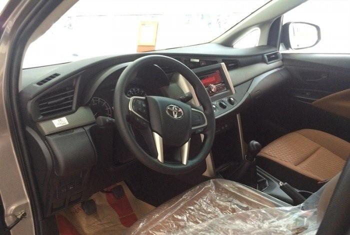 Nội thất Toyota Innova tiện nghi sang trọng
