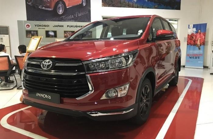 Các trang bị mới trên Toyota Innova 2018