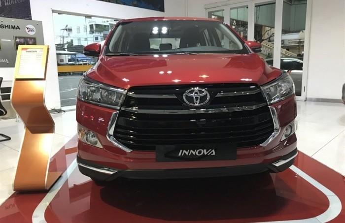 Thông số kỹ thuật các phiên bản xe Toyota Innova
