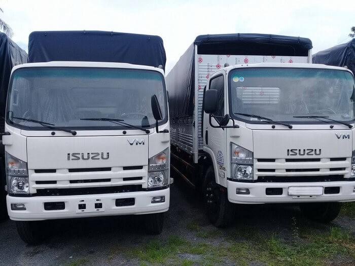 Thông số kỹ thuật chi tiết xe tải Isuzu VM 8t2