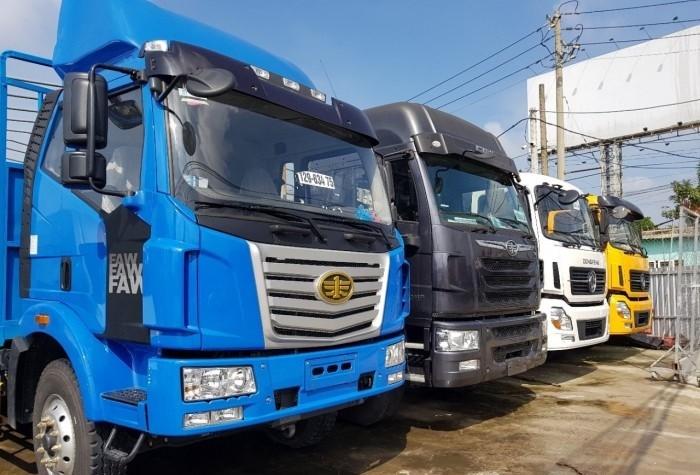 Mua Bán xe tải Faw 7 tấn 8 (7t8) thùng siêu dài 9m8