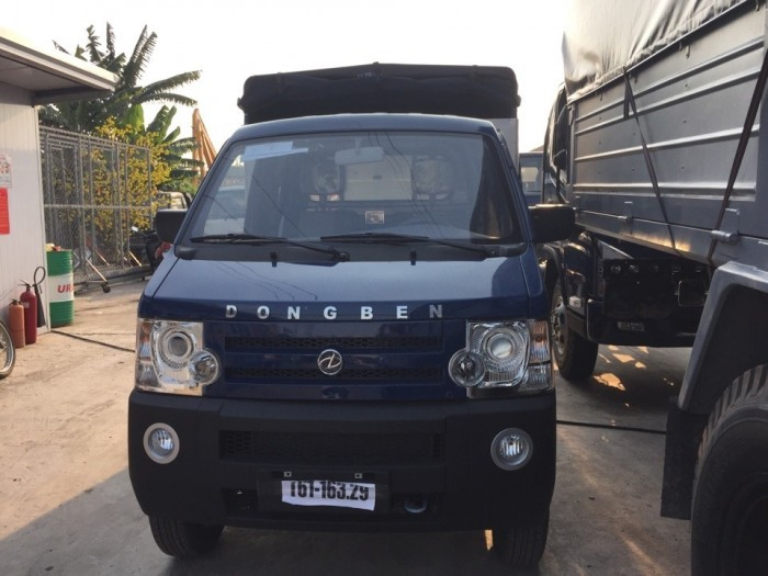 Mua xe tải Dongben 810kg thùng mui bạt