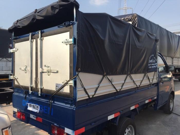 An toàn Xe tải Dongben 810kg thùng mui bạt